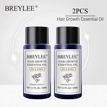 BREYLEE Hair Growth Essential Oil 2PCS Fast Powerful Hair Products Hair Care Prevent Baldness Anti-Hair Loss Serum Increase Hair