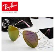 Солнцезащитные очки-авиаторы RayBan RB3026, Классические поляризованные солнцезащитные очки для мужчин и женщин, Ретро стиль, RayBan, для мужчин/женщин, защита от уф400 лучей
