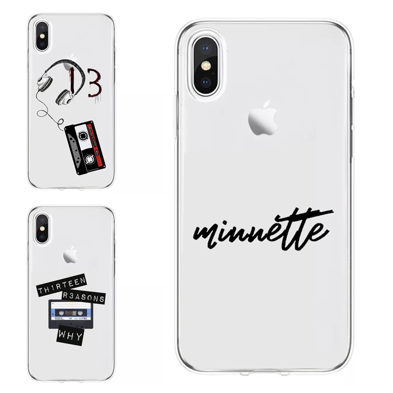 Transparent <font><b>13</b></font> <font><b>Reasons</b></font> <font><b>Why</b></font> <font><b>Phone</b></font> <font><b>Case</b></font> For iPhone 11 Pro Max 7 8 Plus XS Max XR nevertheless,she persist Soft Cover For iPhone X image