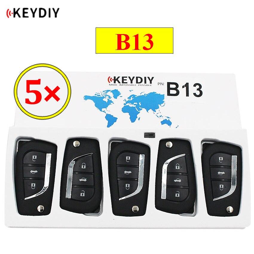 5 шт./лот KEYDIY B серии B13 3 кнопки Универсальный KD пульт дистанционного управления для KD200 KD900 KD900 + URG200 KD-X2 mini KD