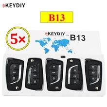 5 pçs/lote KEYDIY B série KD B13 3 botão universal controle remoto para KD200 KD900 KD900 + URG200 KD-X2 mini KD