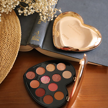 Loving Beauty Charming Eyeshadow Palette 12 Colors Natural Matte Pearlescent Nude Makeup Shimmer Waterproof Cosmetic Powder