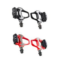 Road Bike Pedal For SHIMANO R550 Bicycle Self-Locking SPD-SL Pedals With Cleats Road Cycling Bicycle Bike Parts Pedals RD550