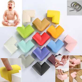 6PC Baby Safety Corner Protector Children Protection Furniture Corners Angle Protection Child Safety Table Corner Protector Tape [haotian vegetarian] five bread corner decoration gusset copper horn corners htg 099