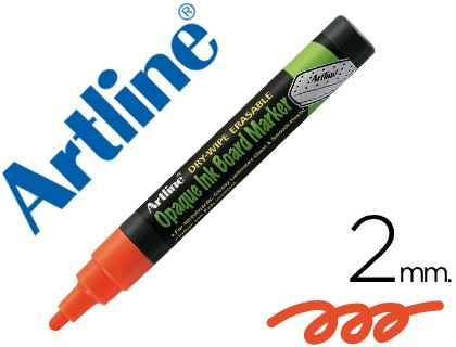 MARKER ARTLINE SLATE GREEN BLACK EPW-4 NA COLOR ORANGE BAG DE 4 MARKERS
