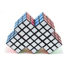 Siamese Speed Magic Cube Vreemde Vorm 2 3 4 5 Siamese Puzzel Stress Reliever Cubos Speelgoed Voor Kinderen Educatief AA50MF