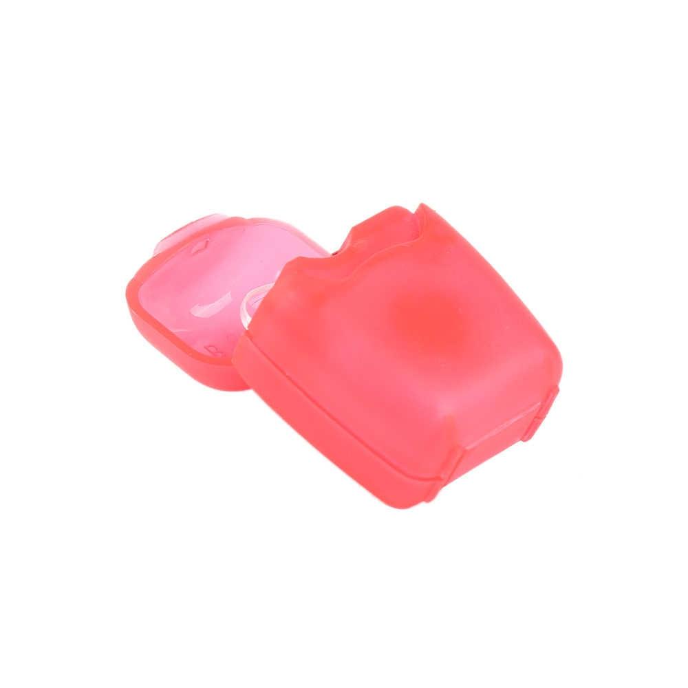 1PCS Food grade den tal flo ss t ooth sbiancamento o ral cura portatile d ental flosser o ral kit di igiene Per iletry 50m