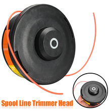 Universal Spool Grass Trimmer Head Replacement Black Bump Cutter Head Garden Lawn Mower Tools Parts