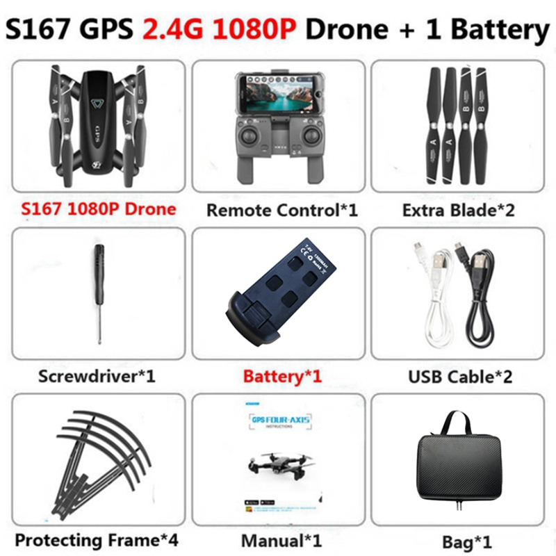 5G GPS Profissional Drone Cameras Toys for Children HD Dron 4K Quadcopter RC Helicopter Hight Hold Mode Automatic Return Drones