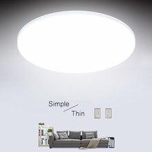 Modern LED tavan yatak odası lambaları mutfak 15/20/30/50W Led tavan lambaları oturma odası ışıkları aydınlatma armatürü tavan