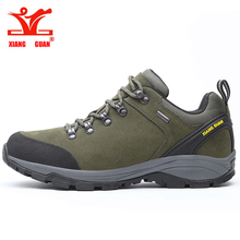 XIANG GUAN Men Trekking Sneakers Male Hiking Shoes Waterproof  Climbing Mountain Trainers Outdoor Walking&Jogging Sneakers цена и фото