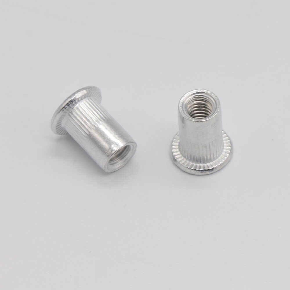 95Pcs and 300Pcs aluminum  Rivet Nut set Rivnut Insert Nutsert KIT M3 M4 M5 M6 M8 M10 for Rivet Nut Gun Riveter Tool