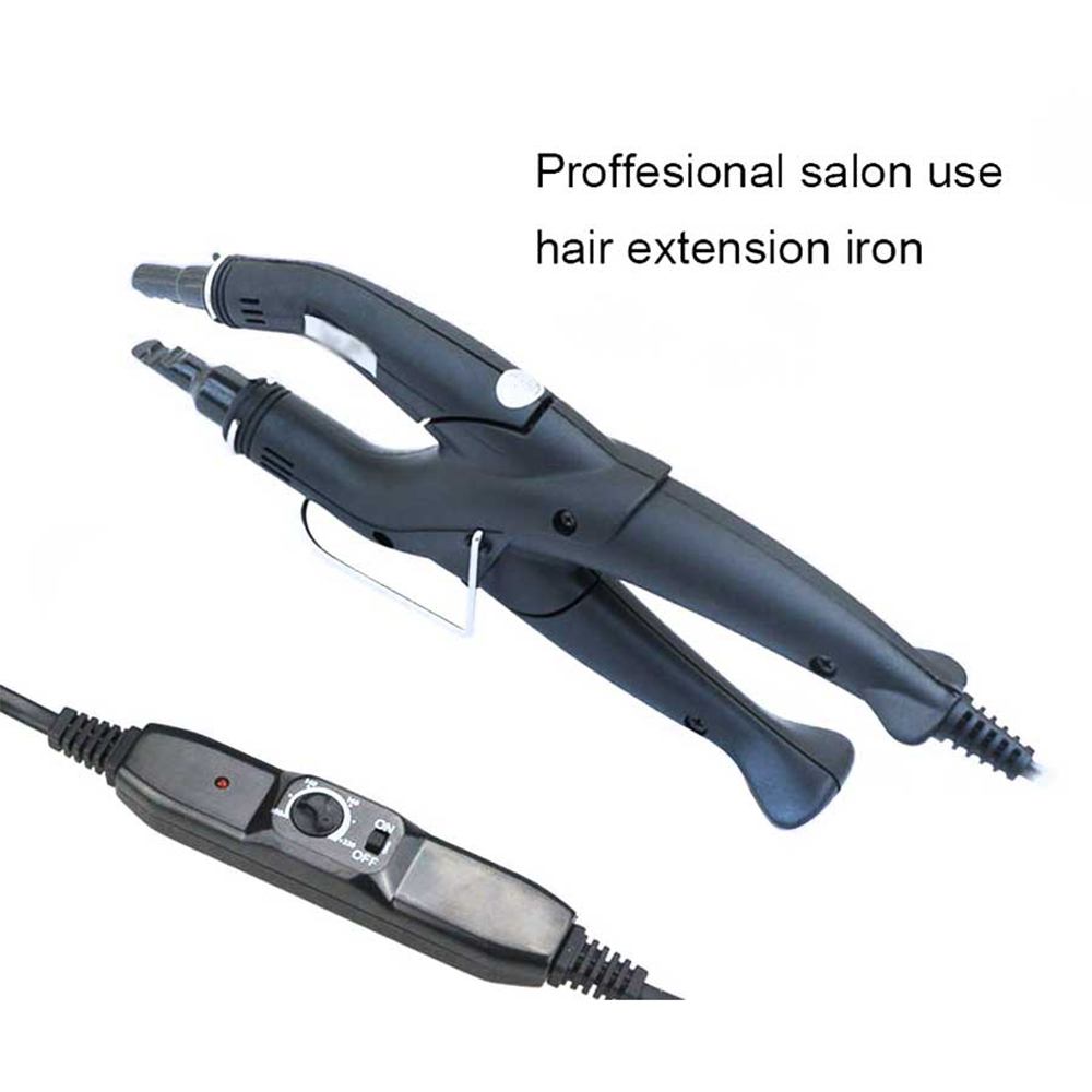 Hair Extension Iron Keratin Bonding Tools Fusion Heat Connector Machine Temperature Fusion Heat Connector