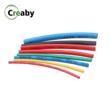Tubos termo retráteis de 1 m, 2:1, multicoloridos, 0.6, 1 2, 3, 5, 6, 8, 10mm de diâmetro, termo, tubo termo, 0.8 sleeving fio de envoltório reparo do conector diy