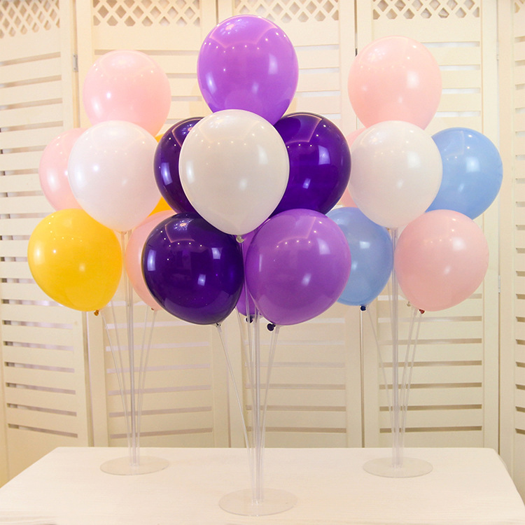 Ballons Accessories Balloon Holder Stand Balloon Wedding Birthday Party Decorations Arch Chain Sealing Clip Glue Dot Babyshower
