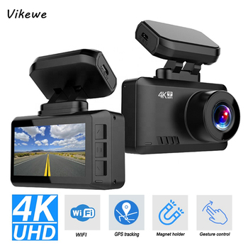 2020 New WiFi GPS Ultra HD 4K 3840*2160P 30FPS Car Dash Cam DVR Camera Recorder Gesture photo Sony IMX335 Registrator led телевизор philips 55pus6412 12 r 55 ultra hd 4k 2160p серебристый