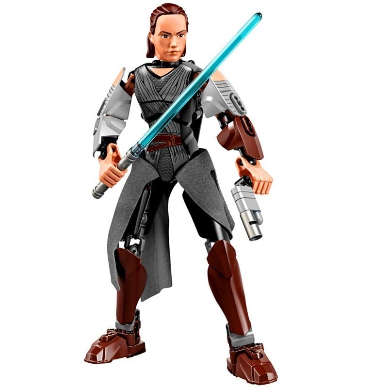 Star Wars Boba Fett Darth Maul Kylo Stormtrooper Phasma Ren Rey Vader Model Assemble Figure Construction Toys For Children 12