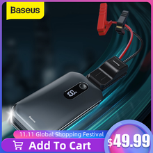 Baseus Car Jump Starter 12000mah 1000A Portable Emergency Starter Power Bank 12V Auto Booster Starting Device Battery for car