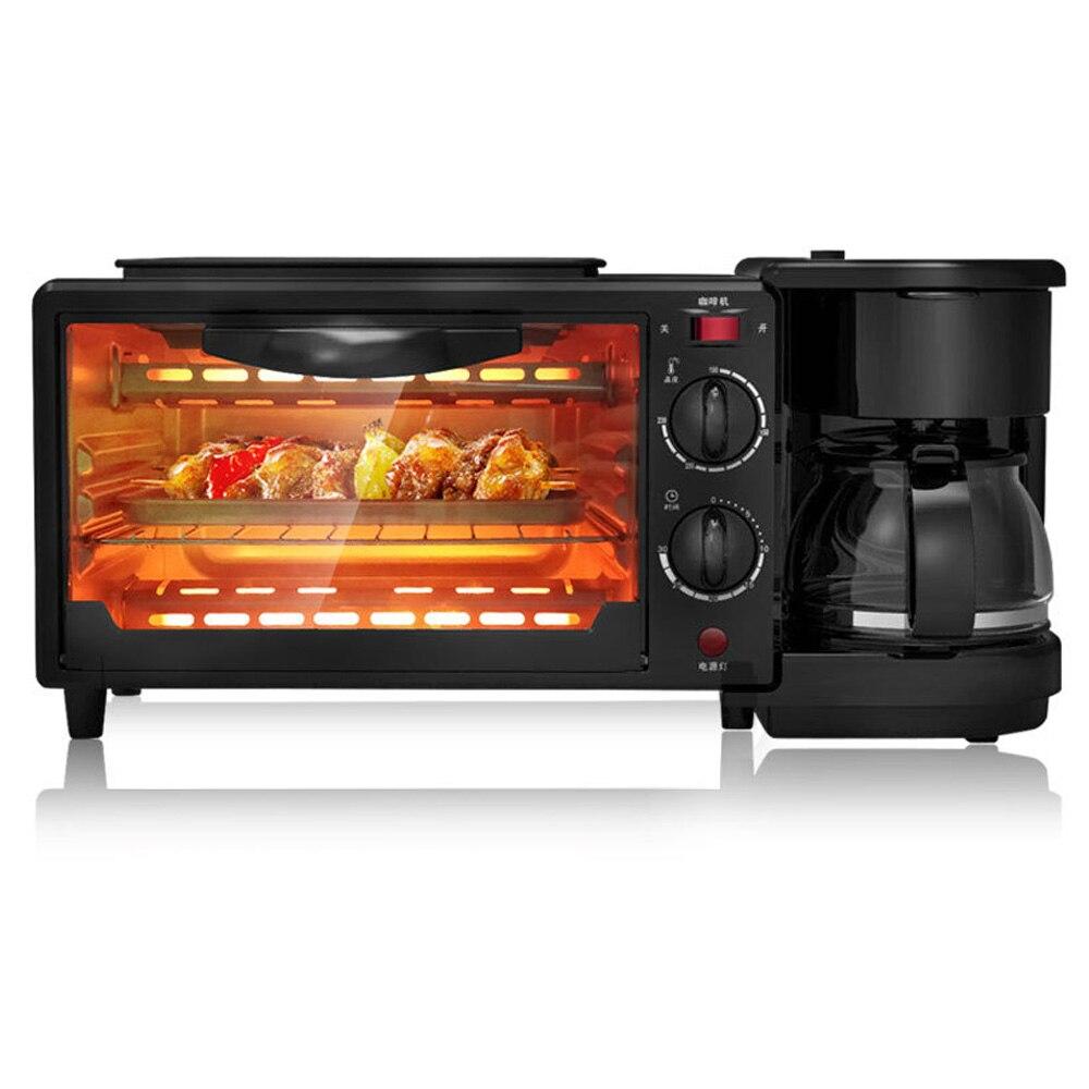 Electric Oven Toaster Breakfast Machine 1050W 50HZ 3 In 1 Practical Multi-Function Convenient Home Bakingtool Breadgrillmachine