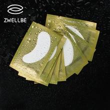 50 paare/paket Neue Papier Patches Wimpern Unter Eye Pads Lash Wimpern Verlängerung Papier Patches Auge Tipps Aufkleber Wraps Machen Up werkzeuge
