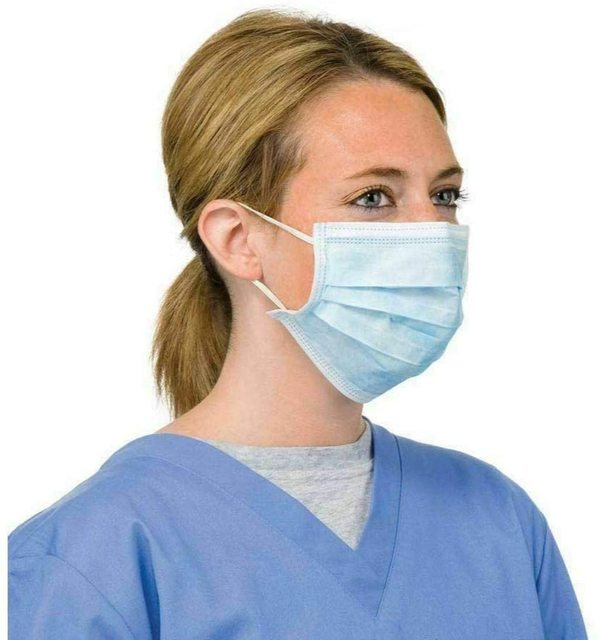 300Pcs N95 Face Mouth Anti Virus Mask Disposable Protect 3 Layers Filter Mouth Masks Mouth-muffle Bacteria Proof Flu Mask FFP2