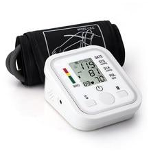 Profissional automático digital braço monitor de pressão arterial tonômetro sphygmomanômetro tensiometro pulsometer pressão arterial