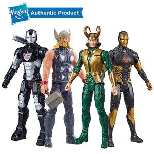 Hasbro Marvel Avengers Marvel Titan Hero серия Loki 12-дюймовая фигурка Тора Железный человек военная машина