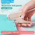 Fromthenon Pilz Punch Mini Loch Puncher DIY Papier Cutter Kreative T-typ Puncher Handwerk Maschine Büros Schreibwaren