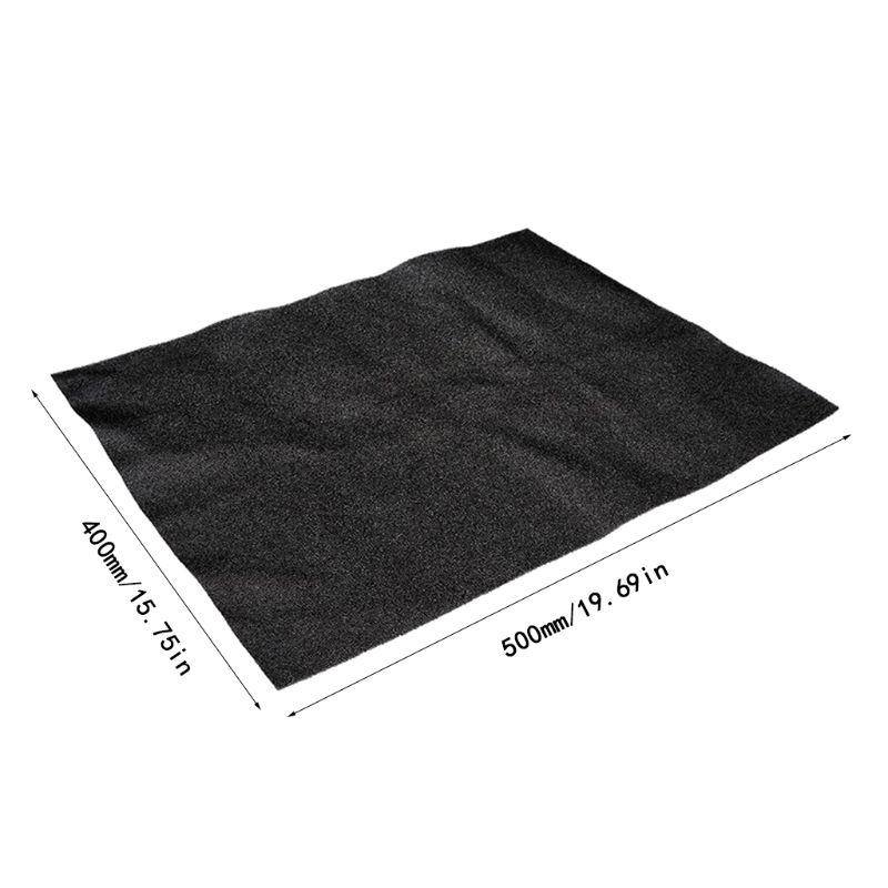 Купить с кэшбэком 500x400x3/5MM Computer Filter Mesh PC Case Fan Cooler Dustproof Cover Sponge