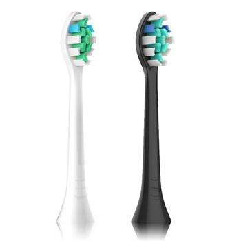 Głowice wymienne do elektrycznej szczoteczki do zębów dla Philips Sonicare główki szczoteczek do zębów 100 nowy wymienne końcówki do szczoteczki główki szczoteczek do zębów tanie i dobre opinie CN (pochodzenie) replacement toothbrush heads 001 Z tworzywa sztucznego Szczoteczki do zębów głowy 3-48 Dorosłych 1 Box 3 pieces