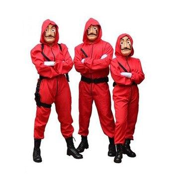 Salvador Dali Film Die Haus von Papier La Casa De Papel Cosplay Partei Halloween Maske Geld Heist Kostüm & Gesicht maske