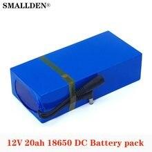 SMALLDEN – batterie Rechargeable universelle, 12V/11.1V, 20000mAh, 18650 Li-ion, pour caméra cctv, ue