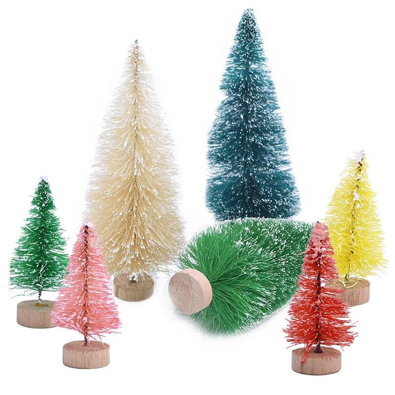 Best Offer 6227 5pcs New Christmas Tree Small Pine Tree
