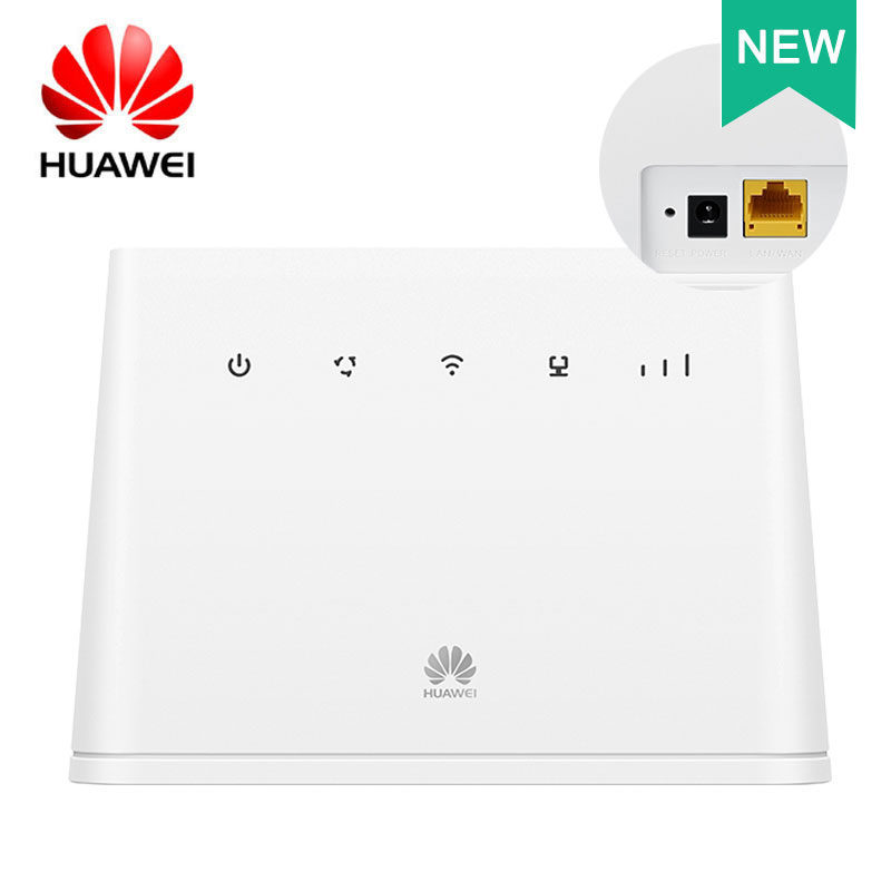 HUAWEI 4G Router 2 2.4G 100Mbps Wifi LTE CPE Mobile Router LAN Port Support SIM Card Portable WiFi Router Wireless Router