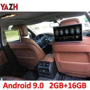 YAZH 11.6 Inch Android 9.0 Headrest Car Monitor 1920*1080 HD Display AUX FM Transmitter Bluetooth With HDMI input USB SD Card(China)