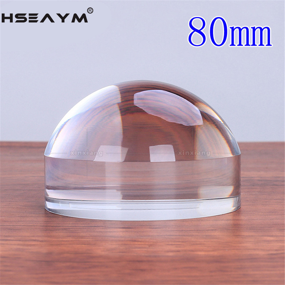 6X Magnifier Magnifying Glass Loupe High definition Optical Resin Acrylic Desktop Paperweight Concentrated Light Mirror|Magnifiers|   - AliExpress