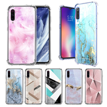 Chic Pink Marble Case For Xiaomi Mi A3 9T Pro Note 10 CC9E 8