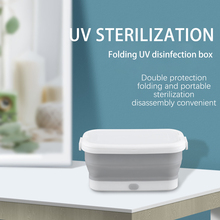 Disinfection Clothing Uv-Sterlizer-Box Manicure for Underwear Towel Dry-Heat Foldable