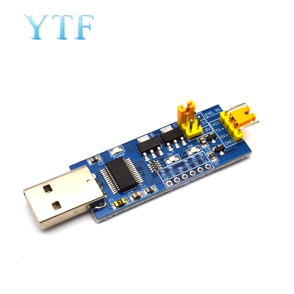 USB To Serial TTL Platelets 5V / 3.3V / 1.8V Level, Download Program Line Serial Interface Module FT232RL