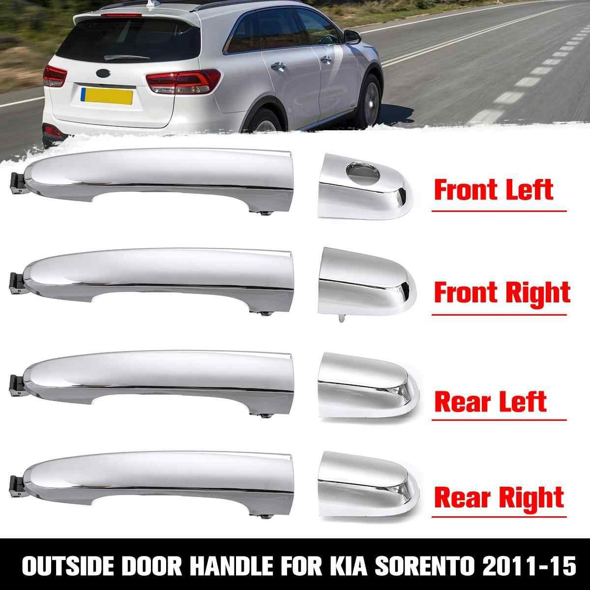 Outside Outer Exterior Rear Left /& Right Door Handles for KIA 2003 2004 2005 RIO