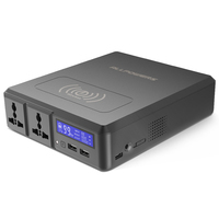 Power Bank 154W 41600mAh Two 110V AC Carregador Portatil External Battery Charger For Phone Wireless Chagring And Laptop etc.