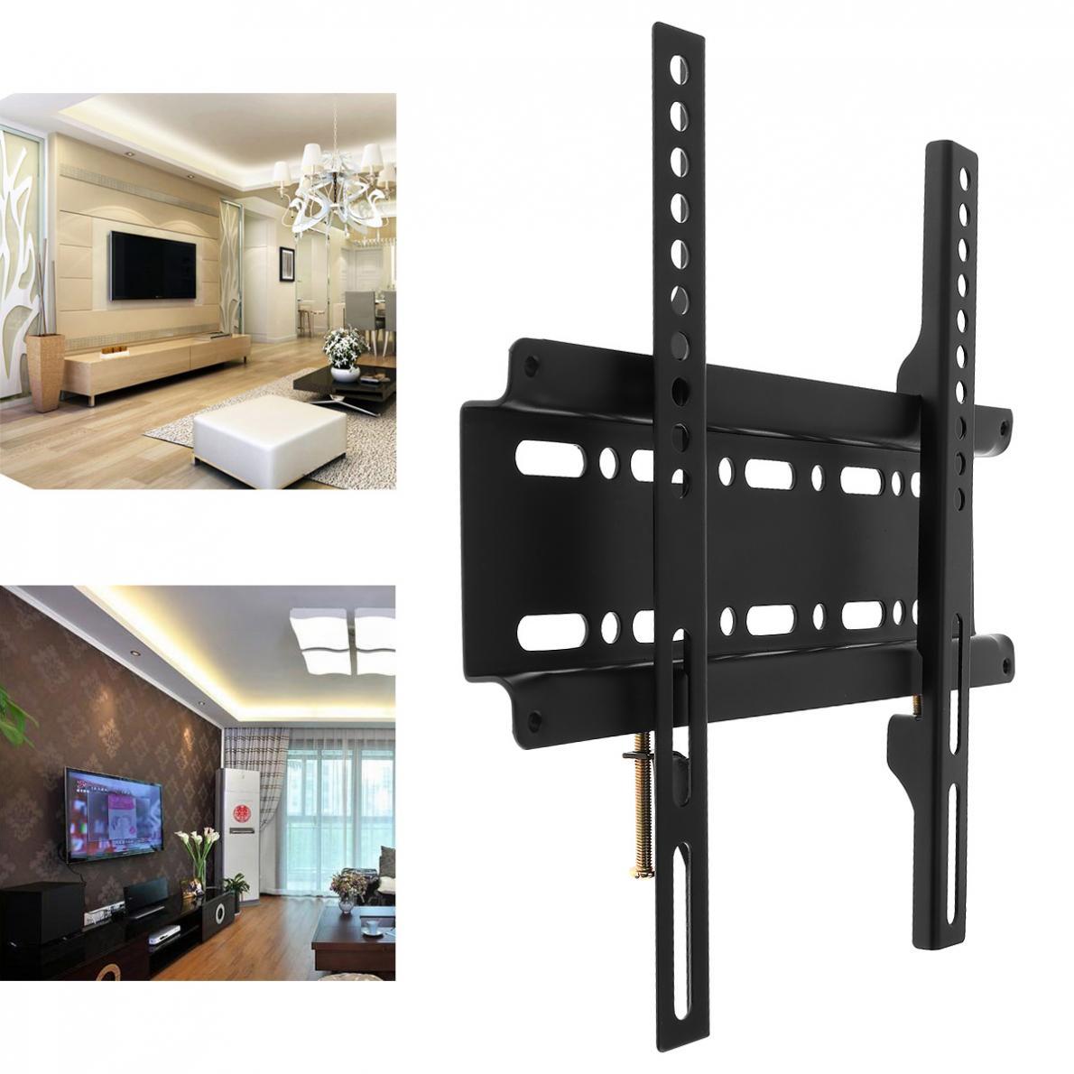 Support de montage mural universel TV cadre TV pour 12-37 pouces LCD moniteur LED écran plat Plasma HDTV support de meuble TV
