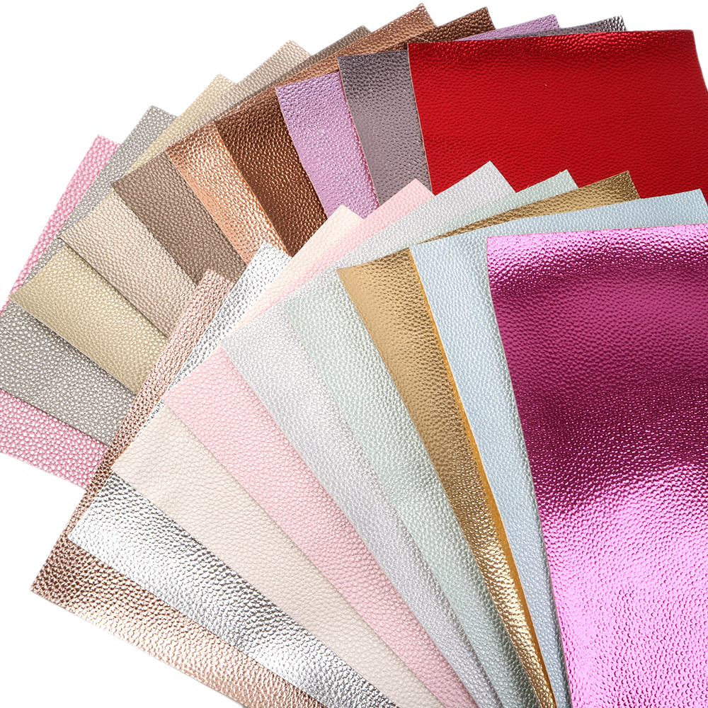 20*33cm Lychee Synthetic Leather Vinyl Faux Artificial Fabric DIY Sewing Garment HairBow Bags,1Yc7275