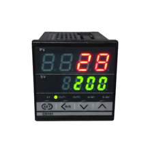 CD101 Professional Digital Temperature Controller PID Dual Display Thermometer Meter Outdoor Thermoregulator with Alarm Relay sestos dual digital pid ac dc 12 24v temperature controller 2 omron relay output d1s