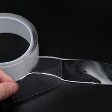 Cinta Nano reutilizable de doble cara, adhesivo lavable, extraíble, herramienta para el hogar, 1/2/3/5M
