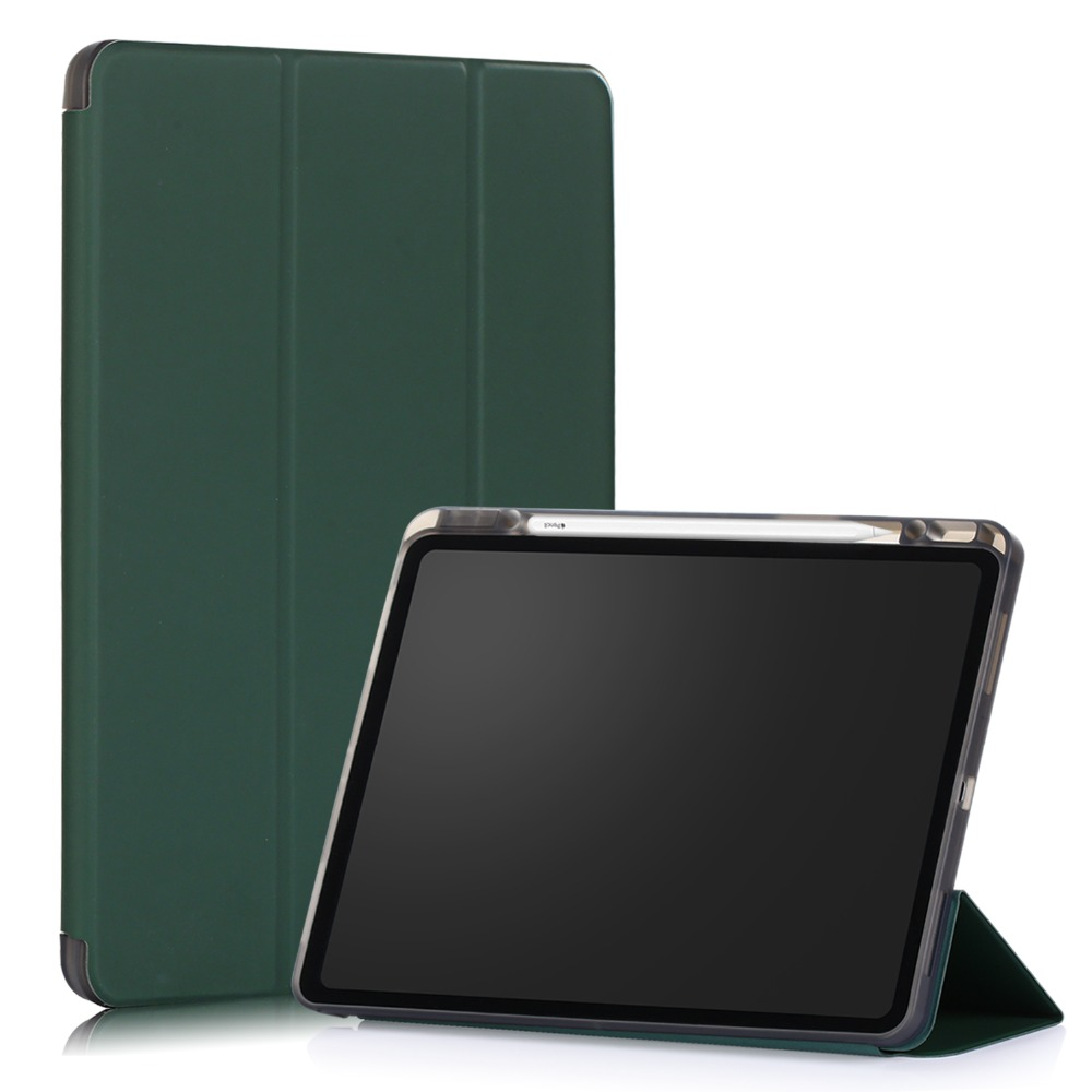 for 12.9 Cover Tablet Case Smart 12.9 2020 Pro Funda for Inch Solid iPad Pro iPad Case