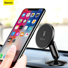 Baseus Magnetic Car Phone Holder Stand Mount 360 Degree Rota