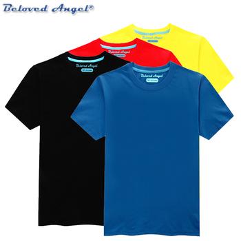 Ubrania dla dzieci maluch 100 bawełna t-shirty z krótkim rękawem dla dzieci Tshirt dla dzieci t-shirty dla dziewczynek chłopcy topy rozmiar 1-15 lat tanie i dobre opinie Beloved Angel COTTON Na co dzień Tees Stałe REGULAR Pasuje prawda na wymiar weź swój normalny rozmiar Unisex TSP01