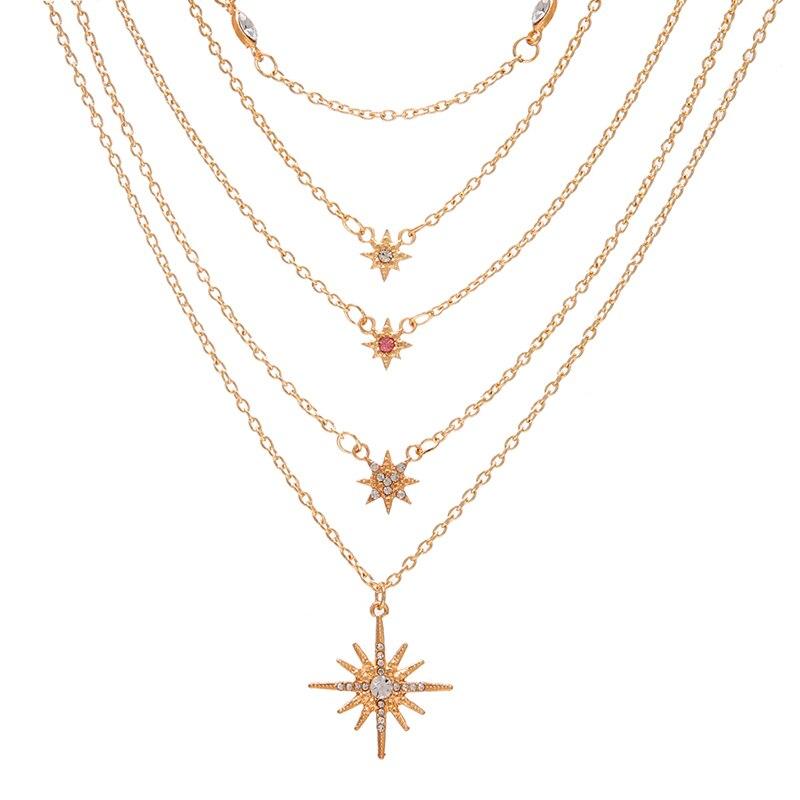 VKME модное жемчужное ожерелье с двойным слоем Love аксессуары Женское Ожерелье Bijoux подарки - Окраска металла: ZL0000889