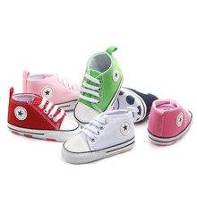 TOPATY; обувь для маленьких мальчиков и девочек; обувь для первых шагов; парусиновые классические спортивные кроссовки для новорожденных; детская обувь с мягкой нескользящей подошвой